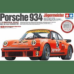 Para armar Porsche Turbo RSR 934 Jägermeister 1/12