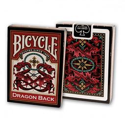 Bicycle Dragon Black Red