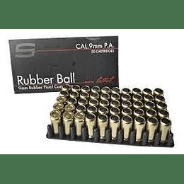 Municion Traumatica Rubber Ball