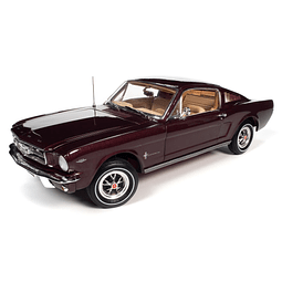 Carro Colección AUTO WORLD AMM1248 - 1:18 1965 Ford Mustang 2+2