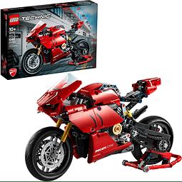 Kit para armar Lego Ducati Panigale V4 R 42107