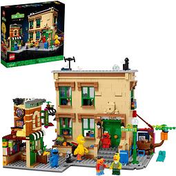 Kit para armar LEGO Ideas 123 Sesame Street 21324