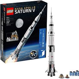 Kit de Armar LEGO Ideas NASA Apolo Saturno V 92176