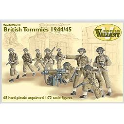 Figuras militares para pintar British Tommies 1944/45 1/72