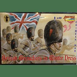 Figuras militares para pintar Granaderos Britanicos Crimea 1/72