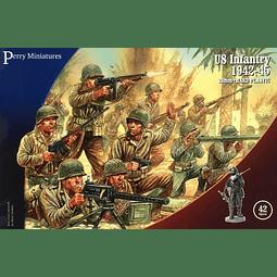 Figuras militares para pintar infantería de USA 1942-1945 1/72