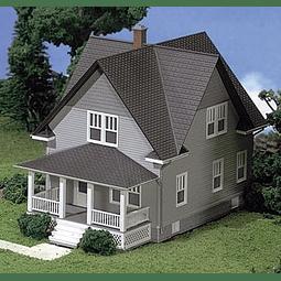 Maqueta para armar casa típica estadounidense Kim´s classic home 1/87
