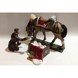 Figura Colección  Lacayo De La Casa Imperial