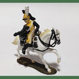 Figura Colección  Caballo Y Jinete Del 25 Regimiento