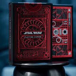 Juego de Mesa Cartas Star Wars Playing Cards Roja