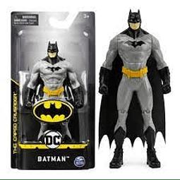 Figura Colección  Batman Tm Gris