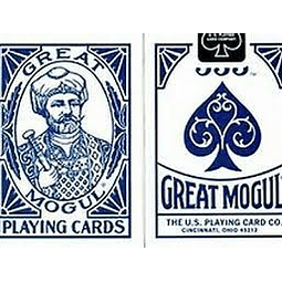 Juego de Mesa Great Mogul Playing Cards Azul