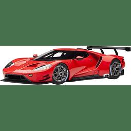 Carro Colección AUTOart  Ford Gt Le Mans Plain 2019 1/18