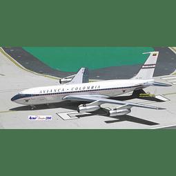 Avión Colección  B720-059B Reg. Hk-725 1/200