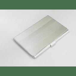 Tarjetero Aluminio