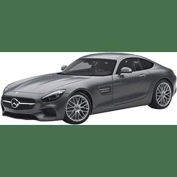 Carro Colección AUTOArt Mercedes Amg Gt S Grey 1/18