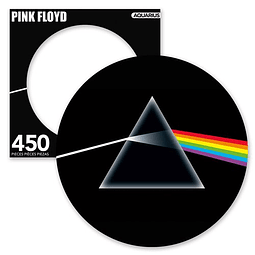Rompecabezas Pink Floyd Dark Side 450-Piece Picture Disc Puzzle
