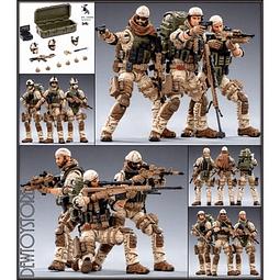 Figura Colección  Joy Toy Us Army Delta Force 1:18