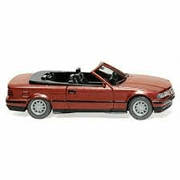Carro Colección  Bmw325I Cabrio Wine- Red Metallic