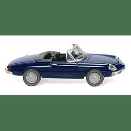 Carro Colección  Alfa Spider- Dark Blue