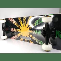 Tabla skate para salto con Agarradera