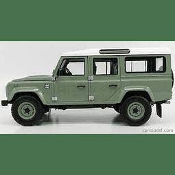 Carro Colección  Lr Defender 110 Verde 1/18