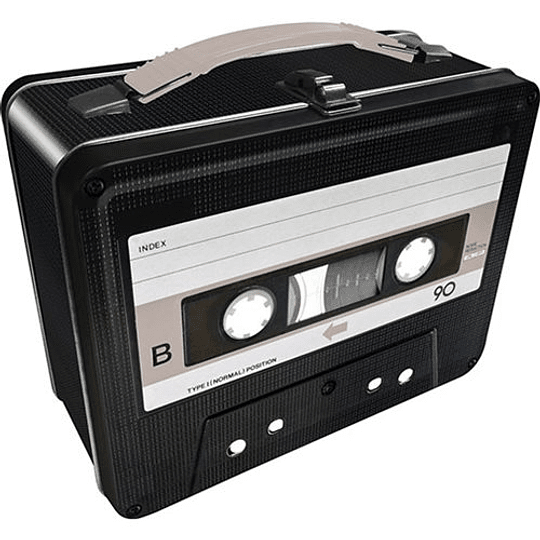 Lonchera En Forma De Cassette