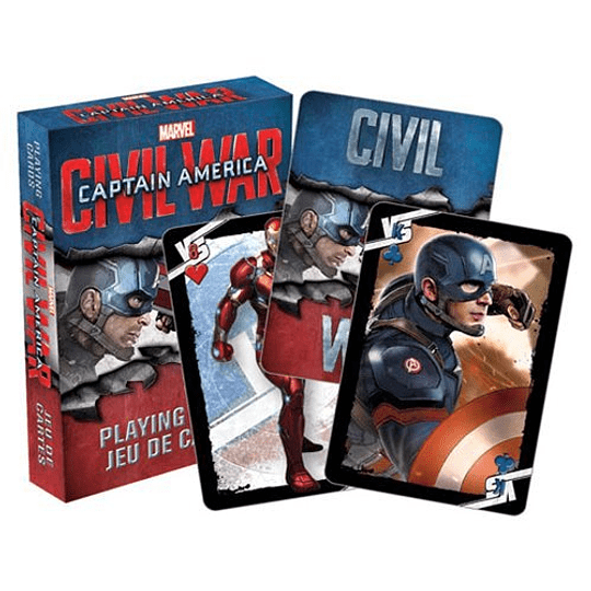 Captain America Civil War Playing C