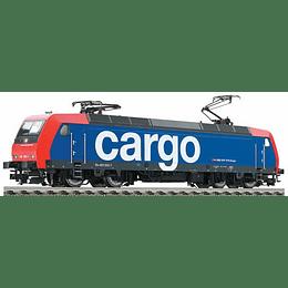 """Locomotora eléctrica """"Cargo"""" con catenaria ho 1/87"""