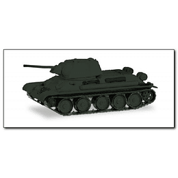 Tank T-34/76 Undecorated 1/87