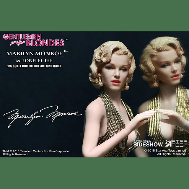 Marilyn Monroe Gold Dress 1/6
