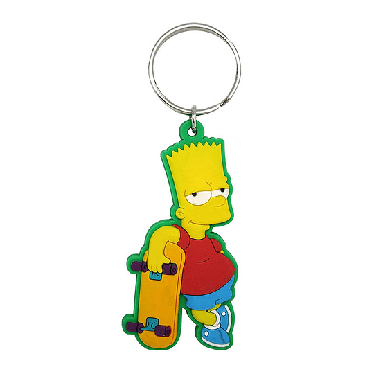 The Simpsons Bart Key Chain