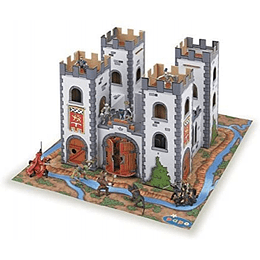 Mini Medieval Castle With Playmat
