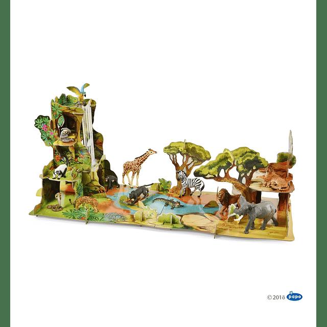 Display de la jungla