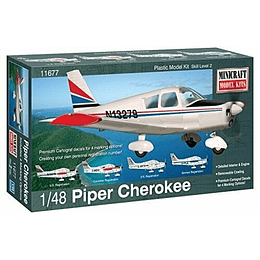 1/48 Piper Cherokee W/4 Marking Opt