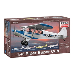 1/48 Piper Super Cub W/4 Marking Op