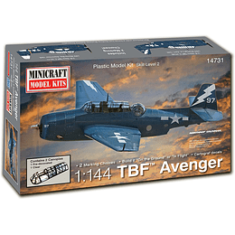 1/144 Tbm Avenger With 2 Markings