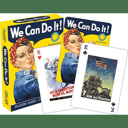 Smithsonian War Posters Playing Car