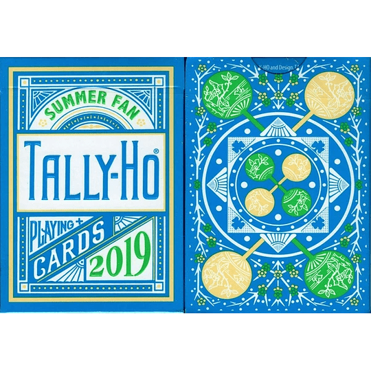 Tally-Ho Summer Fan