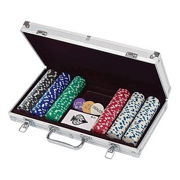 Set De Poker De 300 Fichas