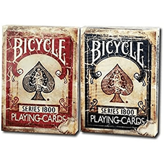 Bicycle Series 1800 (Red And Blue)