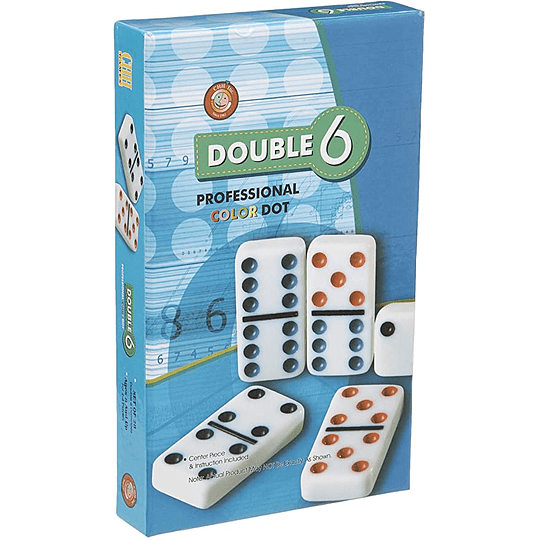 Domino Doble 6 Metalico
