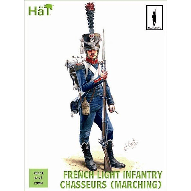 French Chasseurs Marching