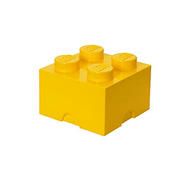 Lego Bright Yellow Storage Brick 4