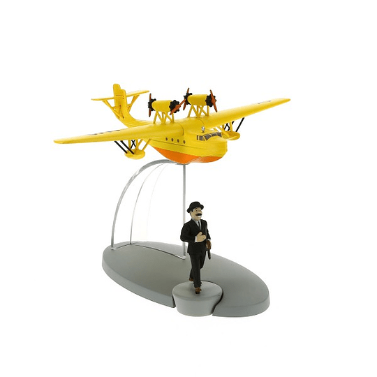 Plane Tintin #25- Yellow
