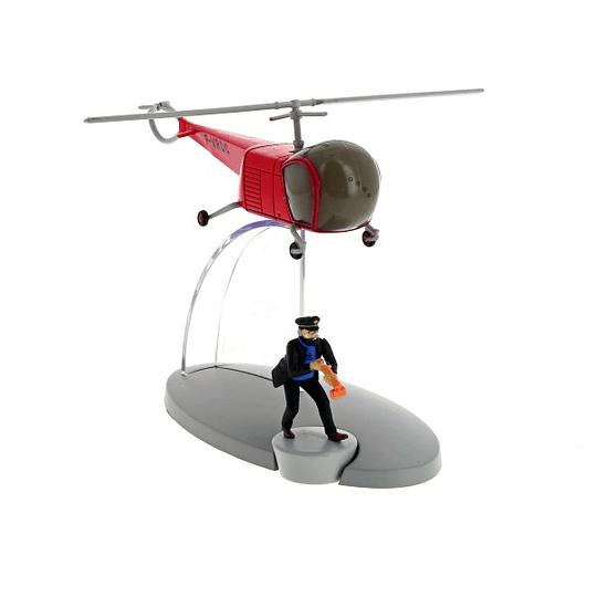 Plane Tintin #36- Bordurian