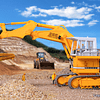 H0 Liebherr R992 Litronic With Back