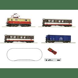 Tren de pasajeros Z21 de vía estrecha 1/87 H0e