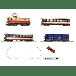 Set de iniciación Z21 tren de pasajeros de vía estrecha 1/87 H0e