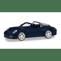 Porsche 911 Targa 4, Nachtblau Metallic 1/87
